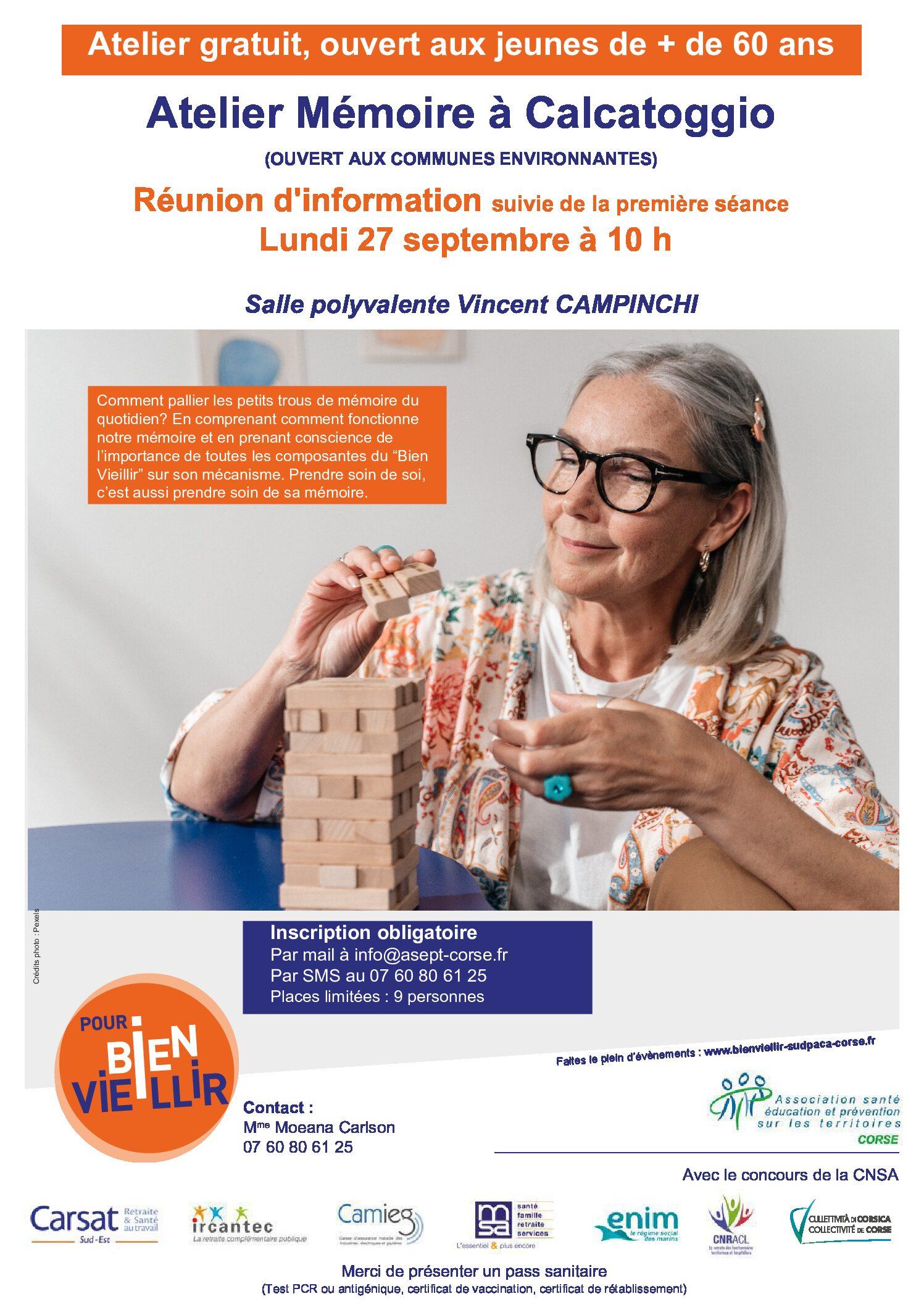 Atelier Mémoire Asept Corse